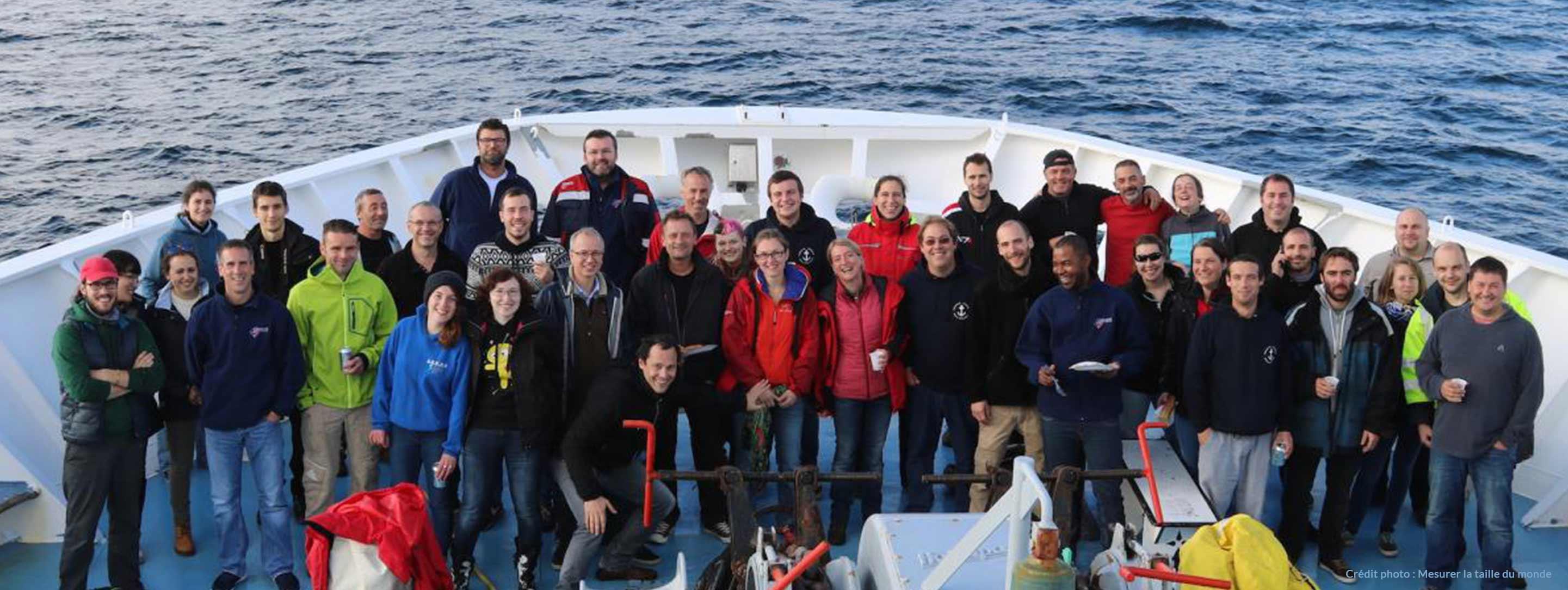 Équipe scientifique Mission Mingulay-Rockall