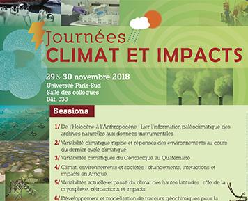 Journée climats et impacts 2018